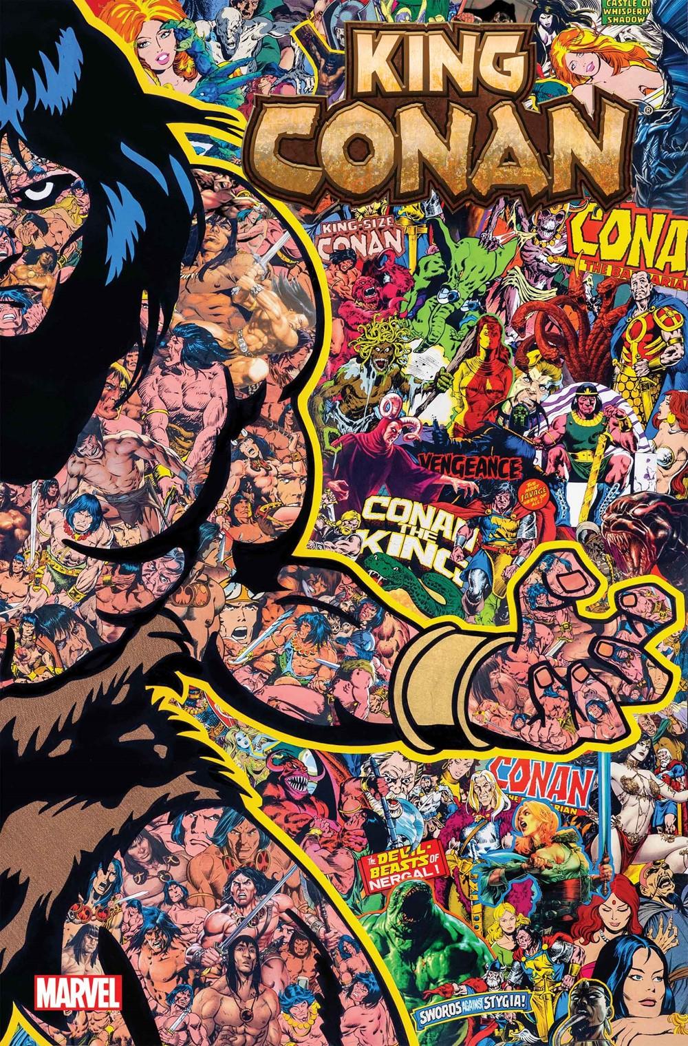 KingConan_2021_Garcin_VAR Marvel Comics December 2021 Solicitations