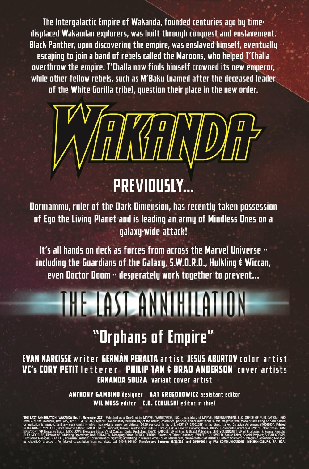 LASTANNIHWA2021001_Preview-2 ComicList Previews: LAST ANNIHILATION WAKANDA #1