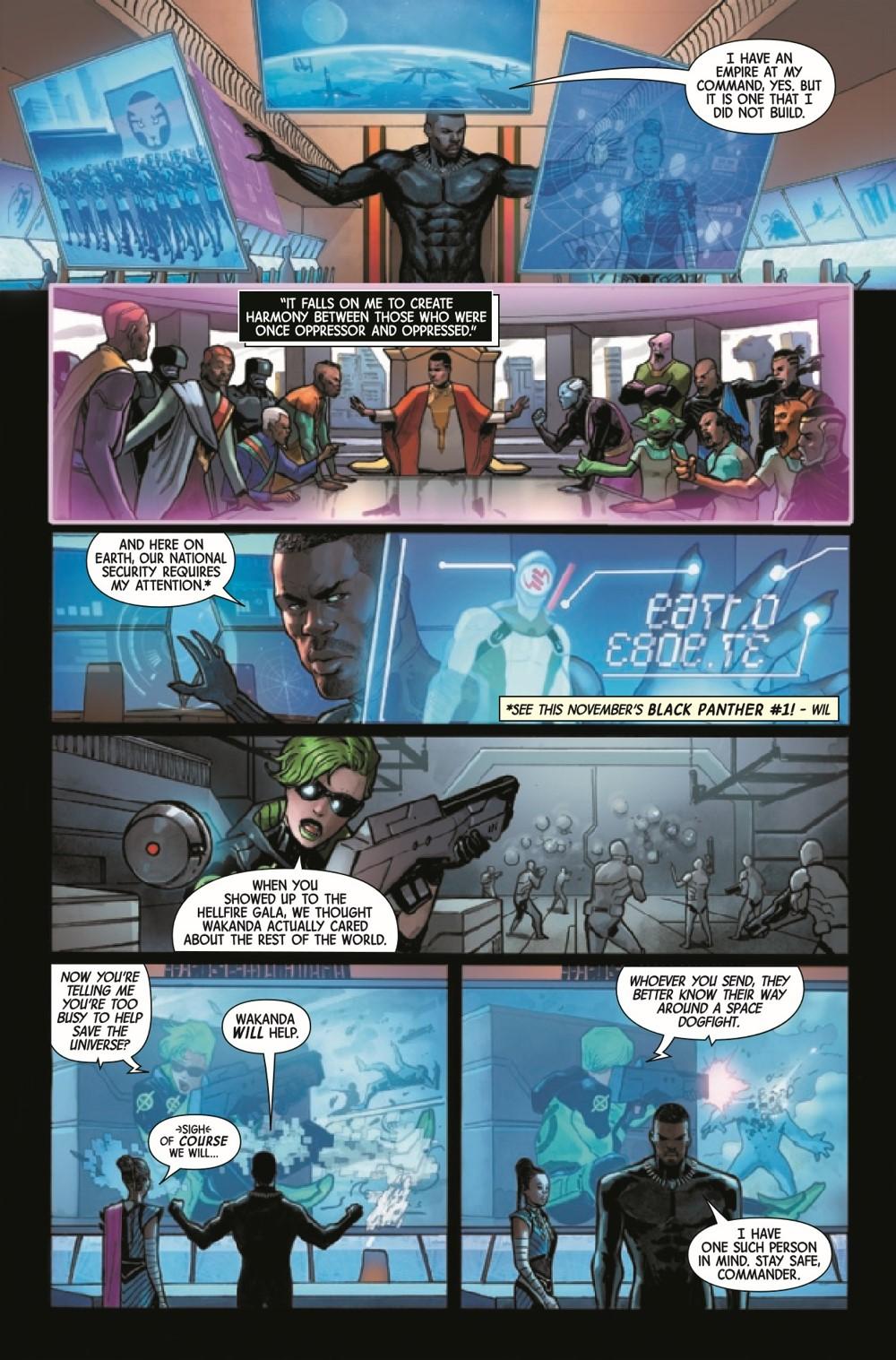 LASTANNIHWA2021001_Preview-6 ComicList Previews: LAST ANNIHILATION WAKANDA #1