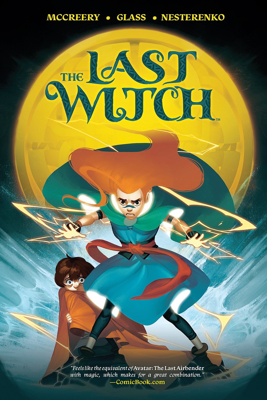 LastWitch_SC_Cover ComicList Previews: THE LAST WITCH FEAR AND FIRE GN
