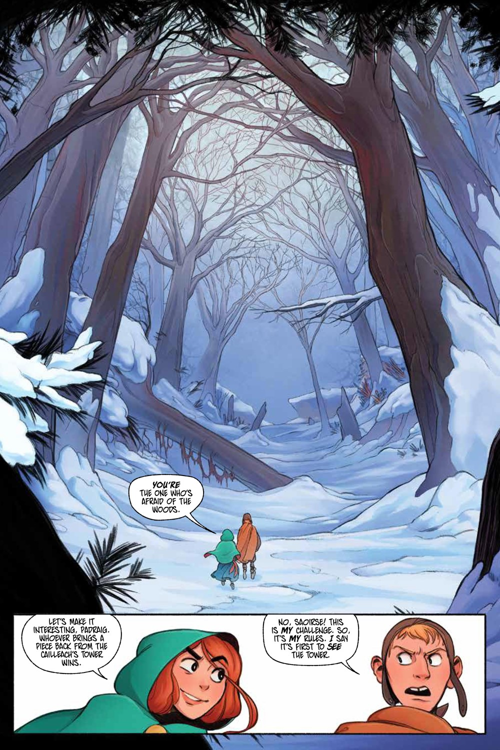 LastWitch_SC_PRESS_9 ComicList Previews: THE LAST WITCH FEAR AND FIRE GN