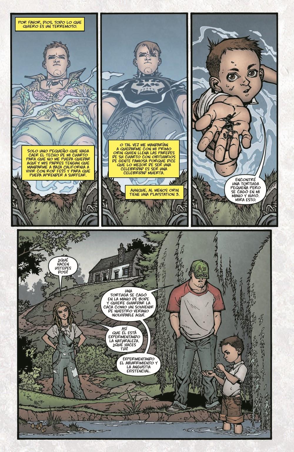 LockeandKey_TPB_pr-7 ComicList Previews: LOCKE AND KEY VOLUME 1 BIENVENIDOS A LOVECRAFT TP