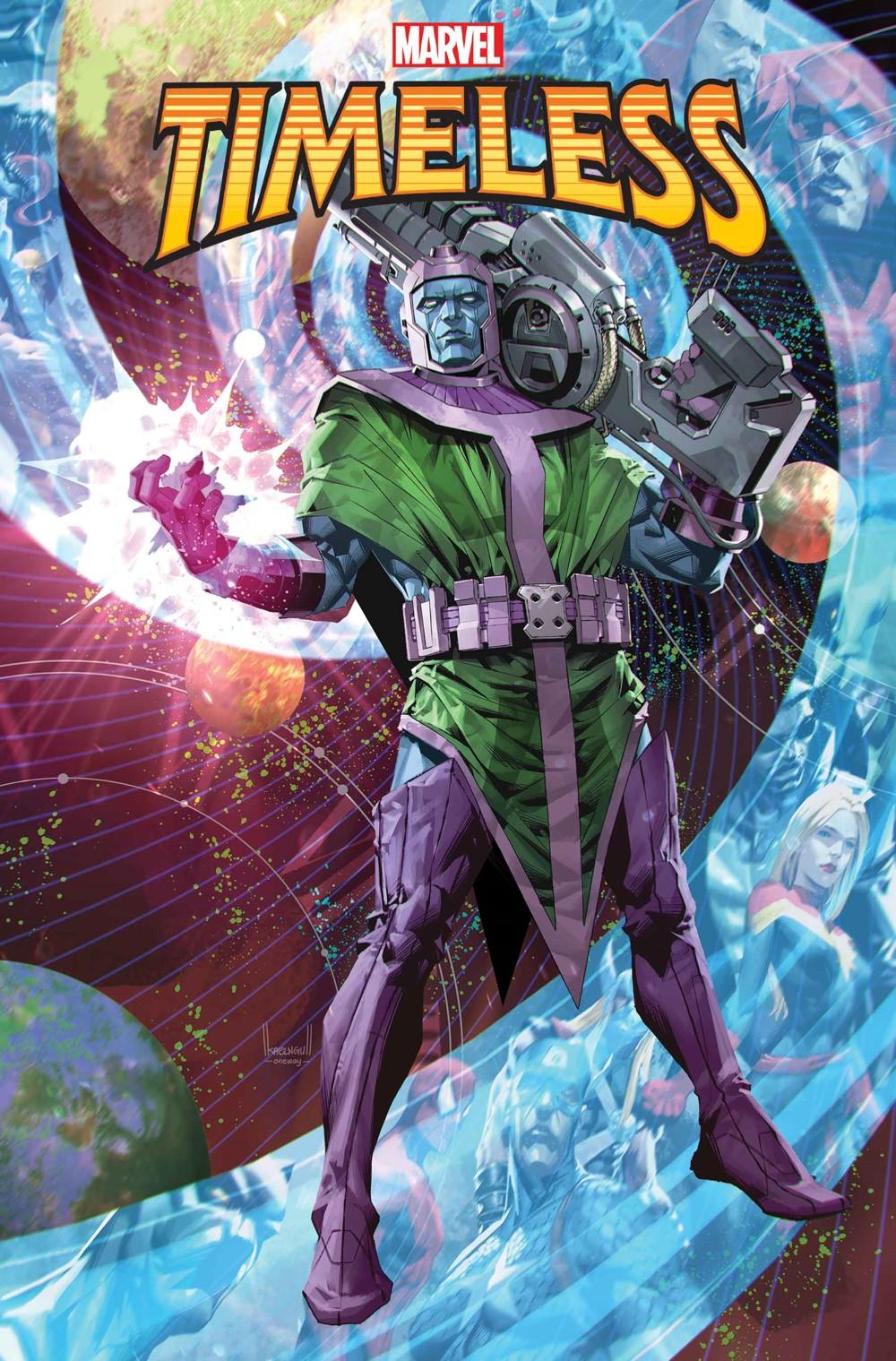 MARTIMELESS2021001_Cov-1 Marvel Comics December 2021 Solicitations