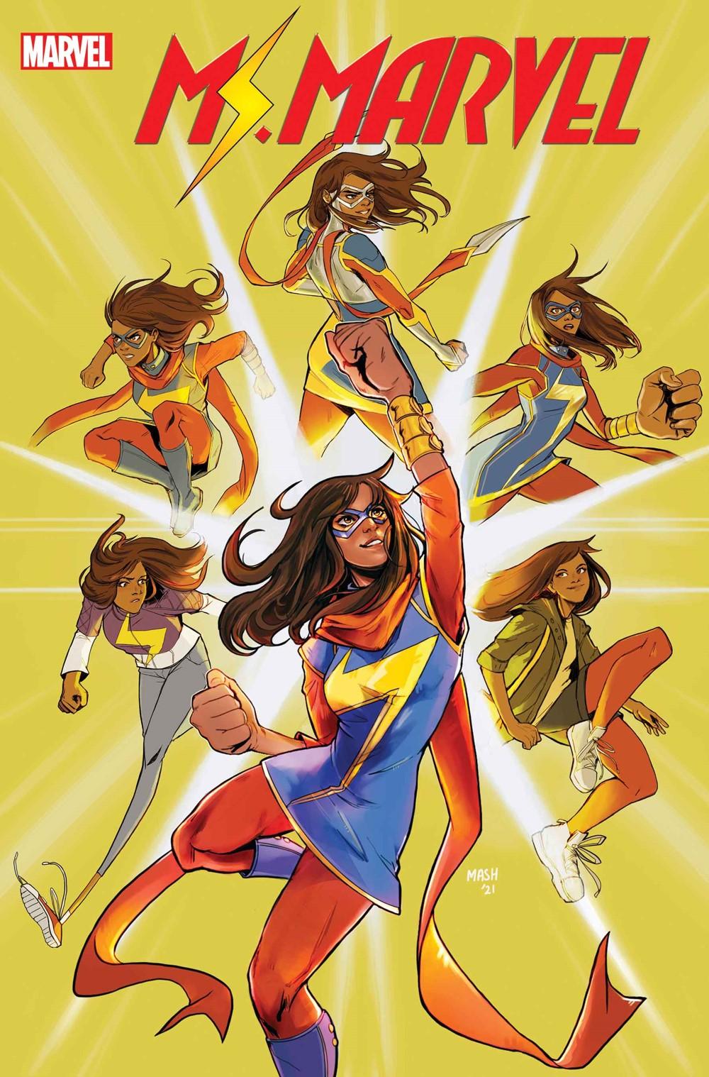 MSMARV2021001_cover_Ahmed Marvel Comics December 2021 Solicitations