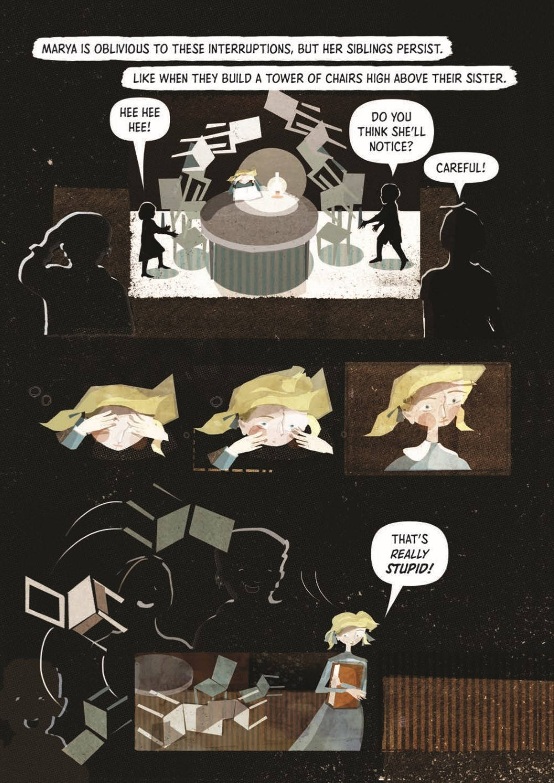 Marie_Curie_TPB_pr-6 ComicList Previews: MARIE CURIE A QUEST FOR LIGHT TP