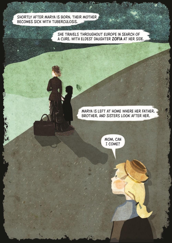 Marie_Curie_TPB_pr-7 ComicList Previews: MARIE CURIE A QUEST FOR LIGHT TP