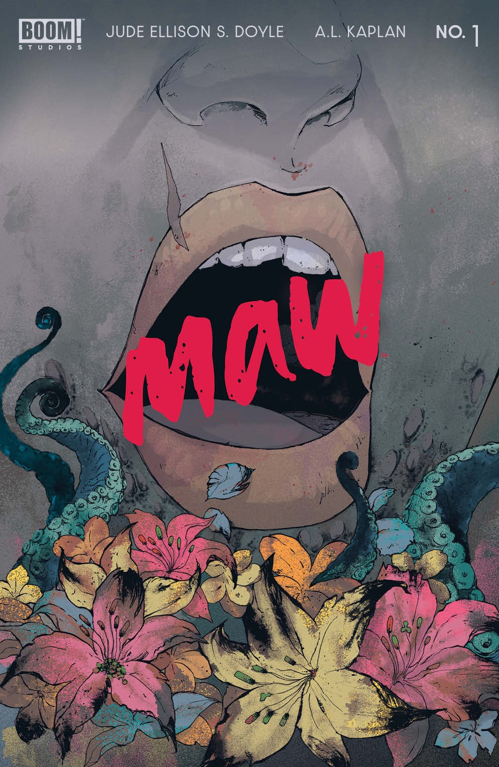 Maw_001_Cover_A_Main ComicList: BOOM! Studios New Releases for 09/15/2021