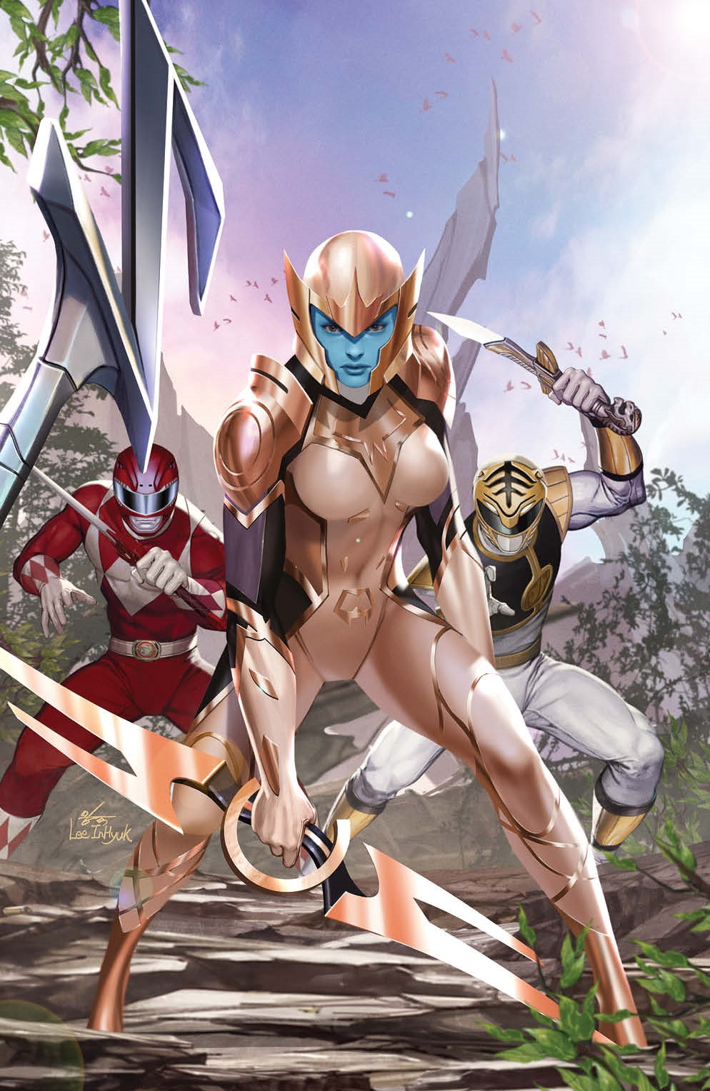 MightyMorphin_011_Cover_C_Variant_Undressed ComicList Previews: MIGHTY MORPHIN #11