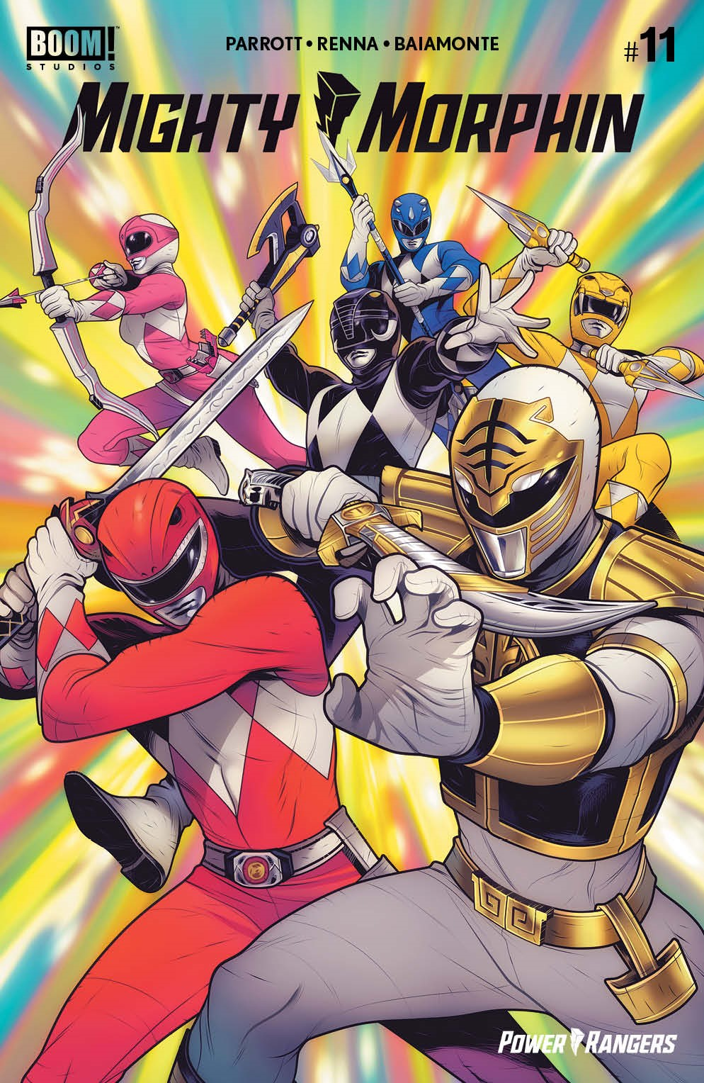 MightyMorphin_011_Cover_F_Variant ComicList Previews: MIGHTY MORPHIN #11