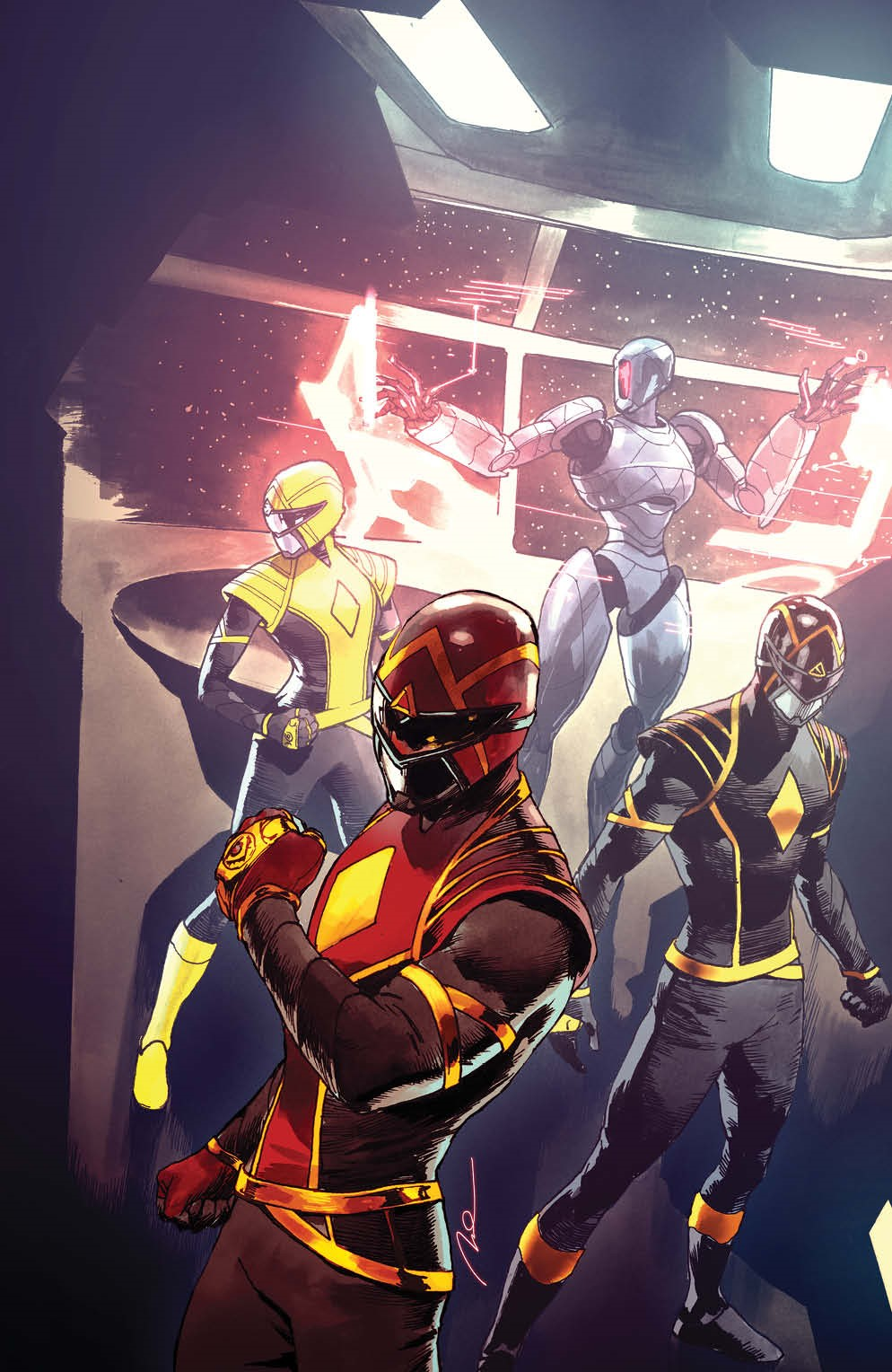PowerRangers_011_Cover_C_Variant_Undressed ComicList Previews: POWER RANGERS #11