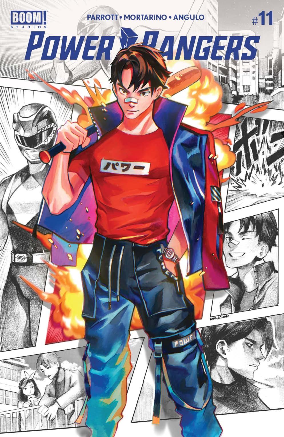 PowerRangers_011_Cover_E_Variant ComicList Previews: POWER RANGERS #11