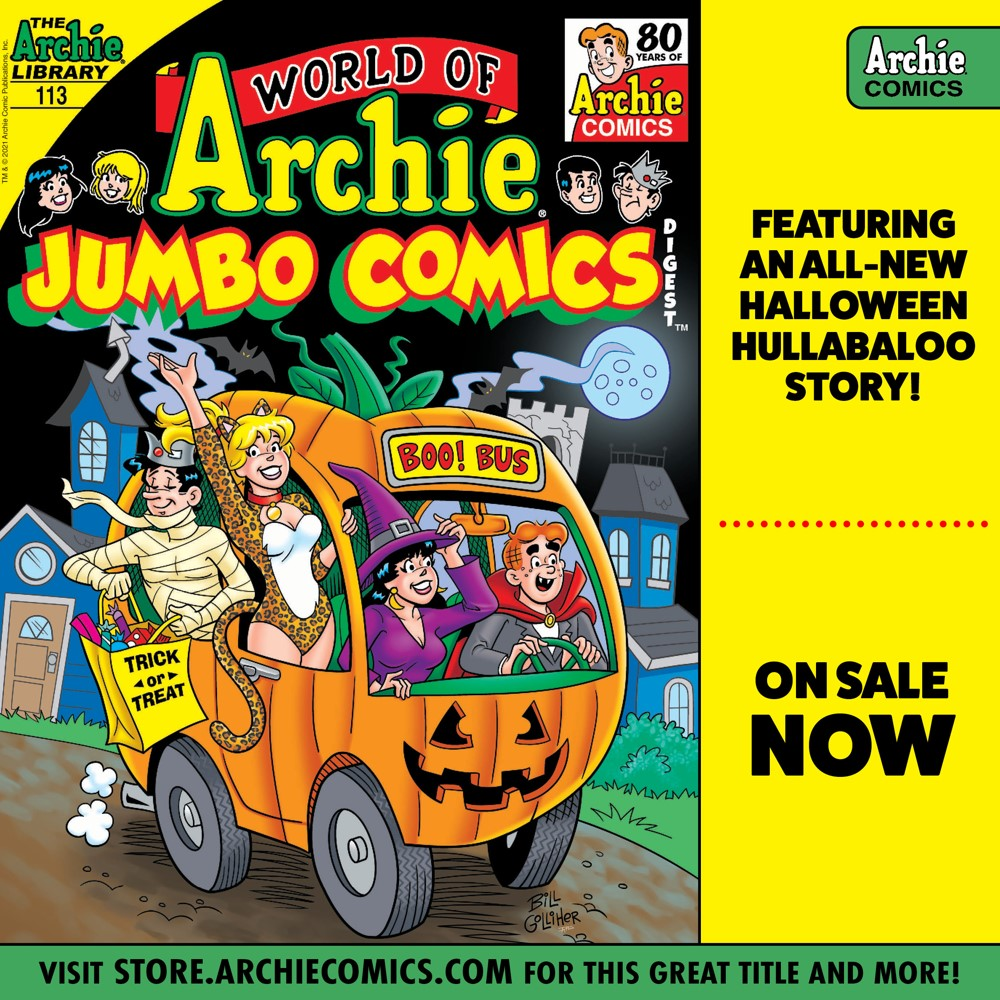 Preorder_Graphic_SEPT_2021_OSN_07 ComicList Previews: WORLD OF ARCHIE JUMBO COMICS DIGEST #113