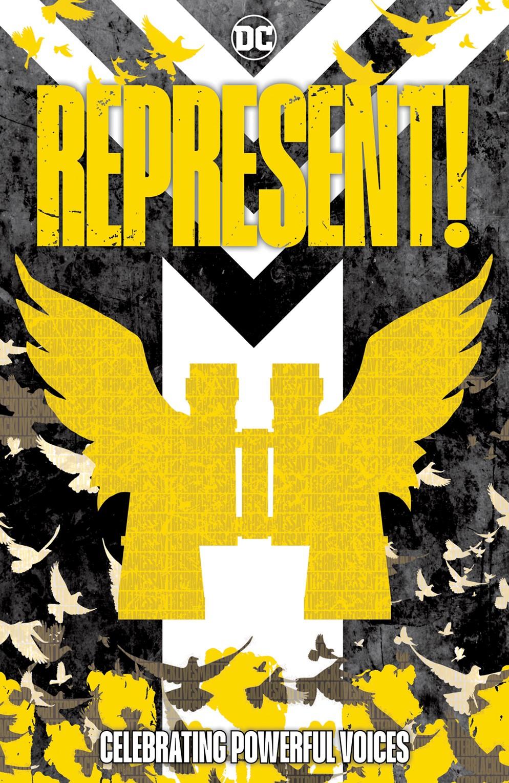 REPRESENT_Cv1_CE_COVER DC Comics December 2021 Solicitations