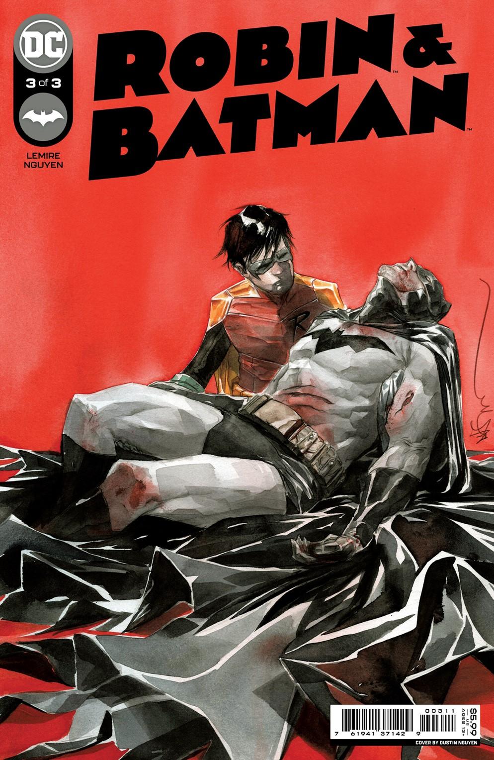 Robin_Batman_Cv3 DC Comics December 2021 Solicitations