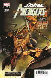 SAVAVEN2019024_Preview-1-198x300 ComicList Previews: SAVAGE AVENGERS #24