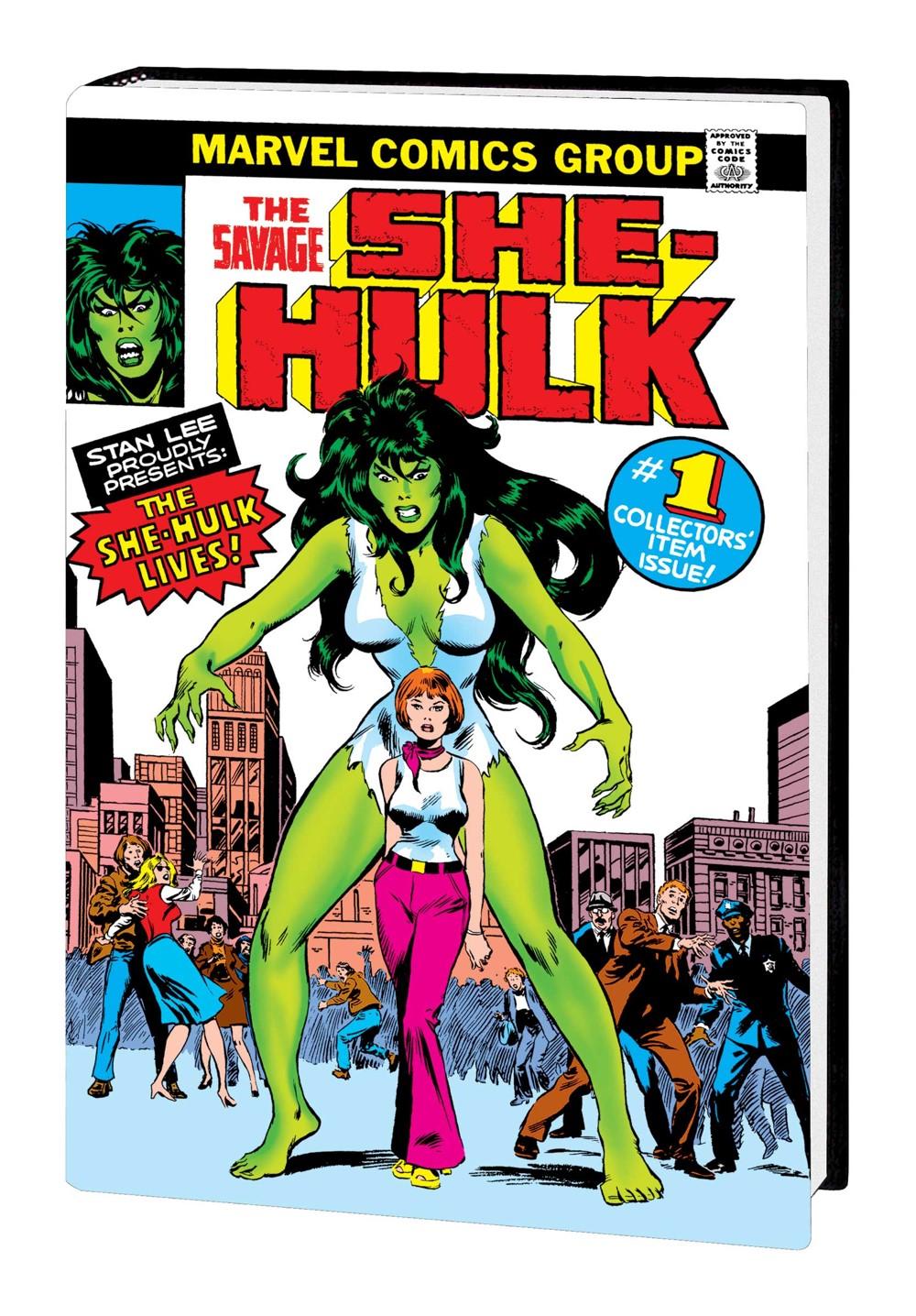 SAV_SHEHULK_OMNI_HC_BUSCEMA Marvel Comics December 2021 Solicitations