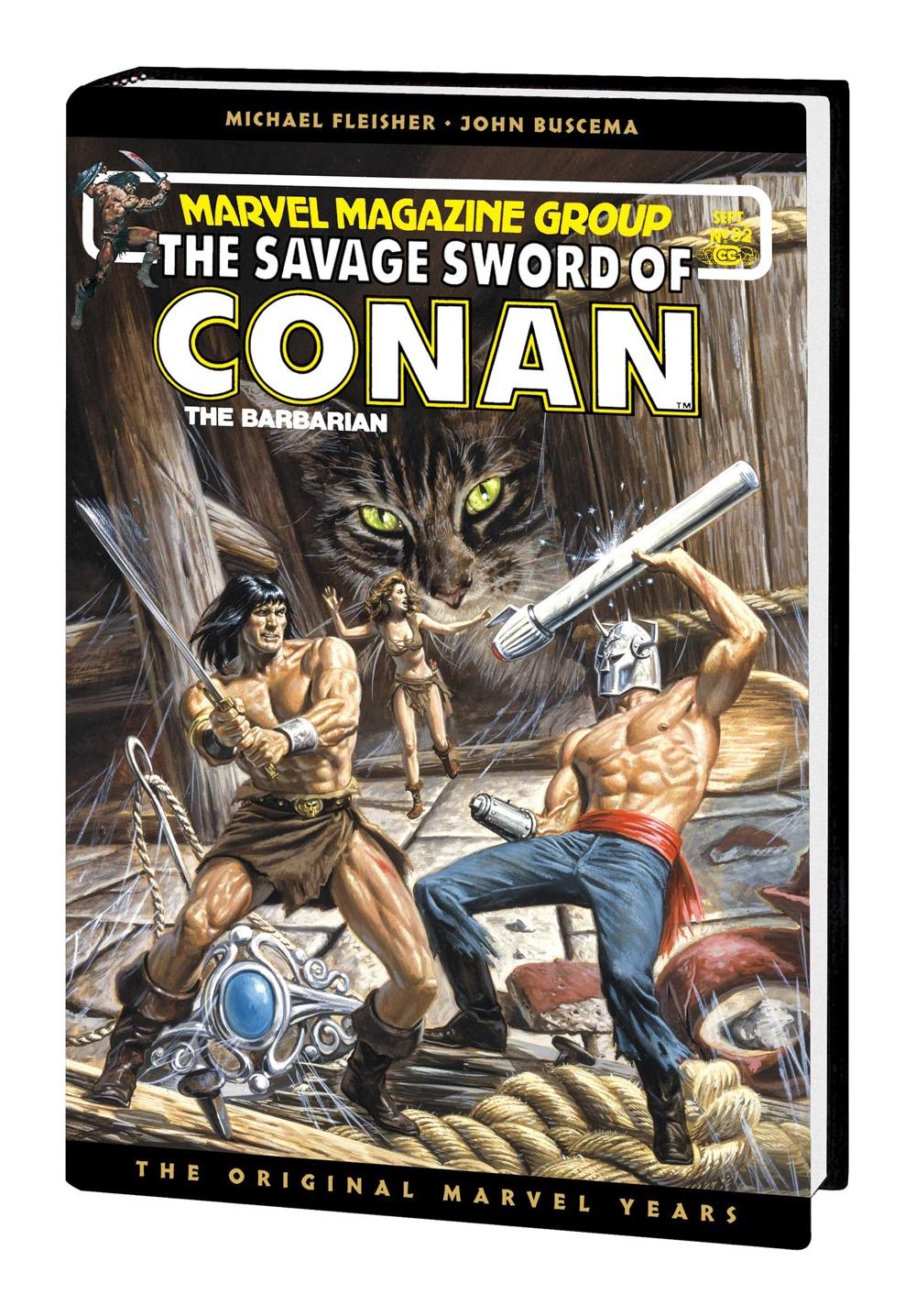SSOCONANMAR_OMNIV07_HC_LARKIN Marvel Comics December 2021 Solicitations