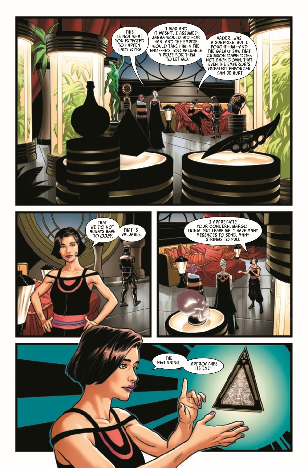 STWWAROTBH2021004_Preview-6 ComicList Previews: STAR WARS WAR OF THE BOUNTY HUNTERS #4 (OF 5)