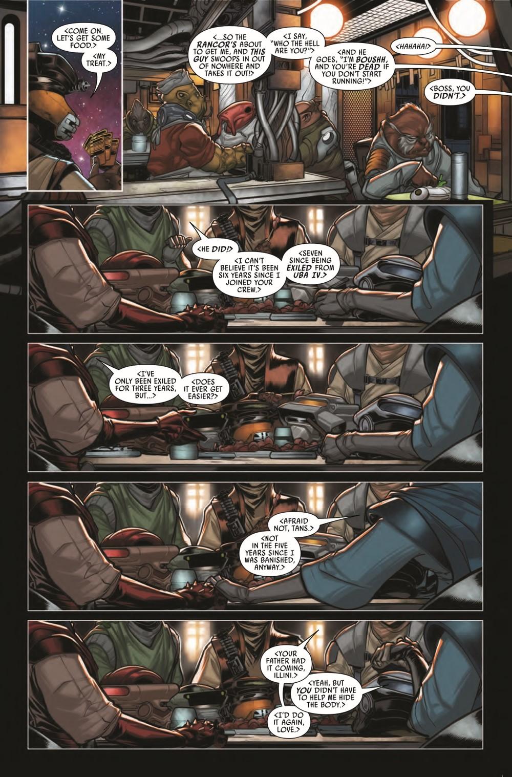 STWWAROTBHBOUSHH2021001_Preview-6 ComicList Previews: STAR WARS WAR OF THE BOUNTY HUNTERS BOUSHH #1