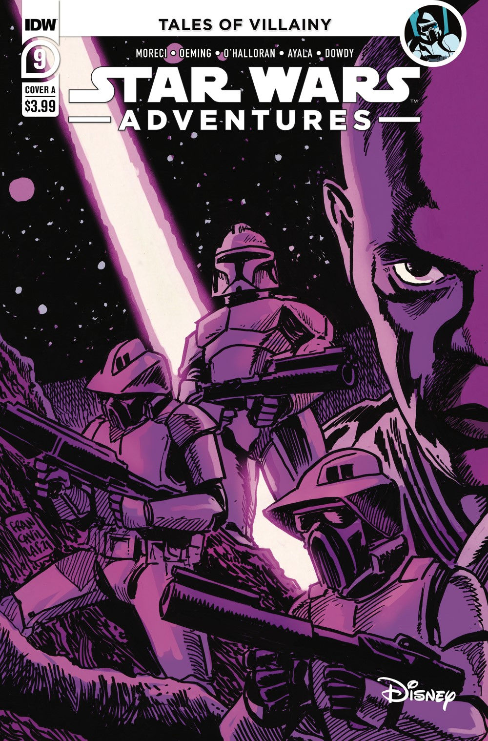 SWA-09-Cover-A ComicList: IDW Publishing New Releases for 09/08/2021
