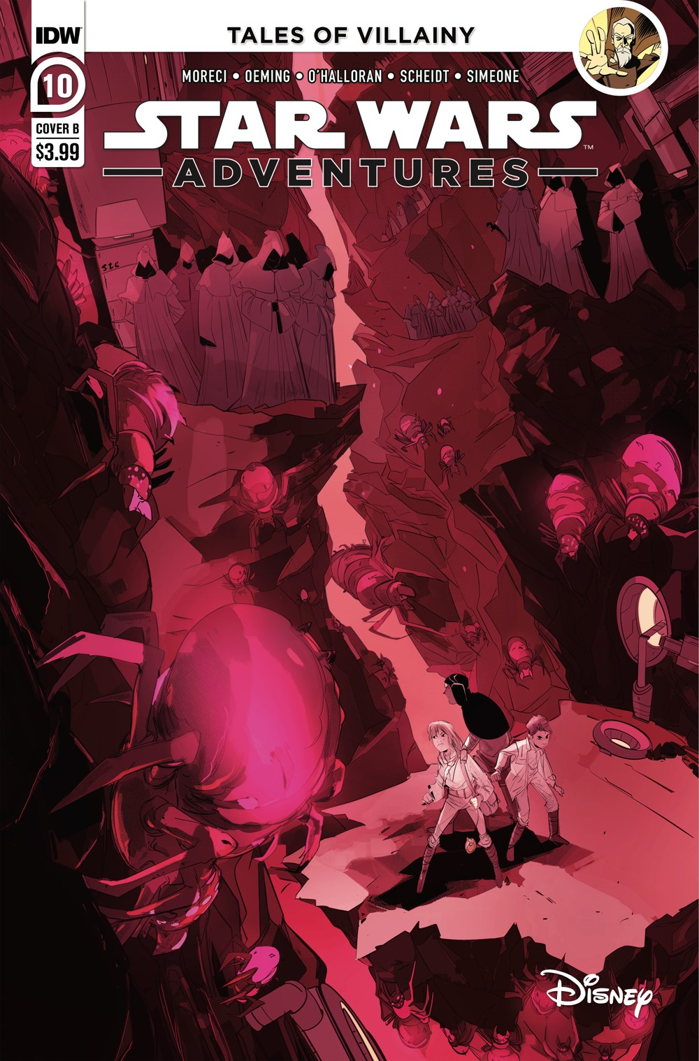 SWA-10-Cover-B ComicList Previews: STAR WARS ADVENTURES VOLUME 2 #10