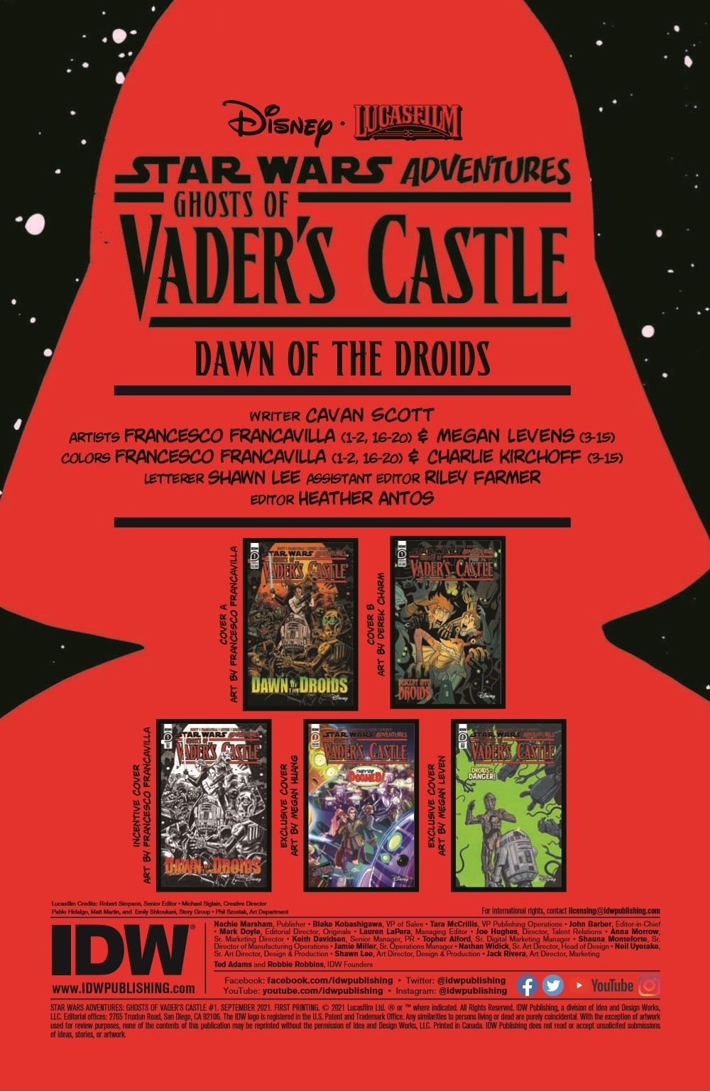 SW_GoVC01_pr-2 ComicList Previews: STAR WARS ADVENTURES GHOST OF VADER'S CASTLE #1 (OF 5)