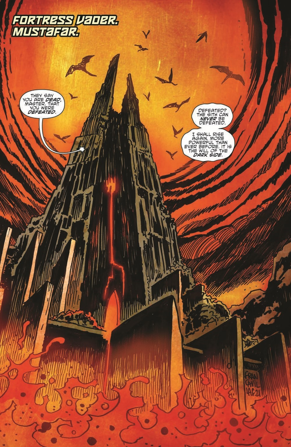 SW_GoVC01_pr-3 ComicList Previews: STAR WARS ADVENTURES GHOST OF VADER'S CASTLE #1 (OF 5)