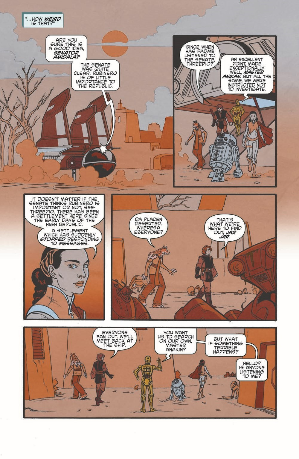 SW_GoVC01_pr-7 ComicList Previews: STAR WARS ADVENTURES GHOST OF VADER'S CASTLE #1 (OF 5)