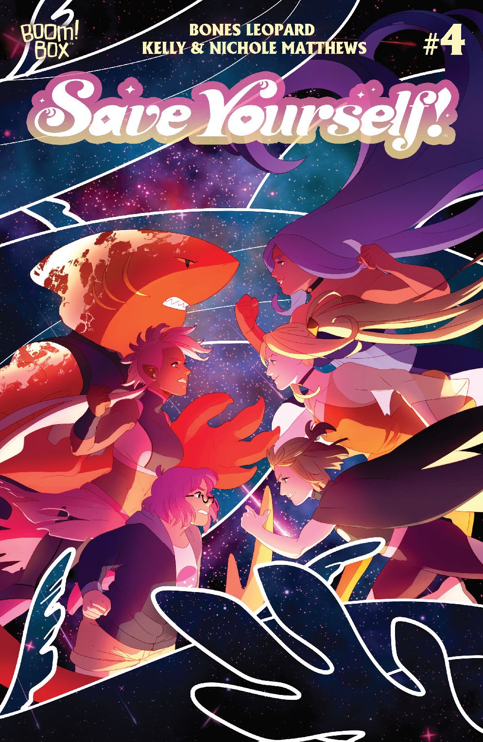 SaveYourself_004_Cover_A_Main ComicList: BOOM! Studios New Releases for 09/15/2021