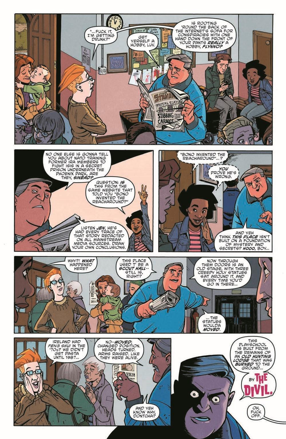 Scarenthood_pr-4 ComicList Previews: SCARENTHOOD TP