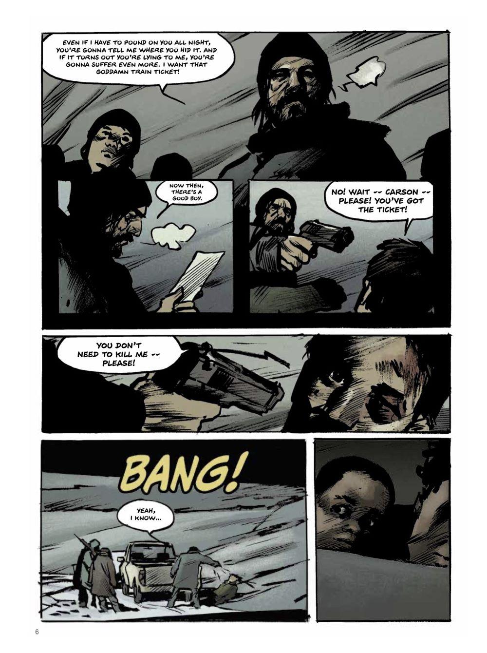 Snowpiercer-Prequel-Vol.-2-Page-1 ComicList Previews: SNOWPIERCER THE PREQUEL VOLUME 2 APOCALYPSE GN