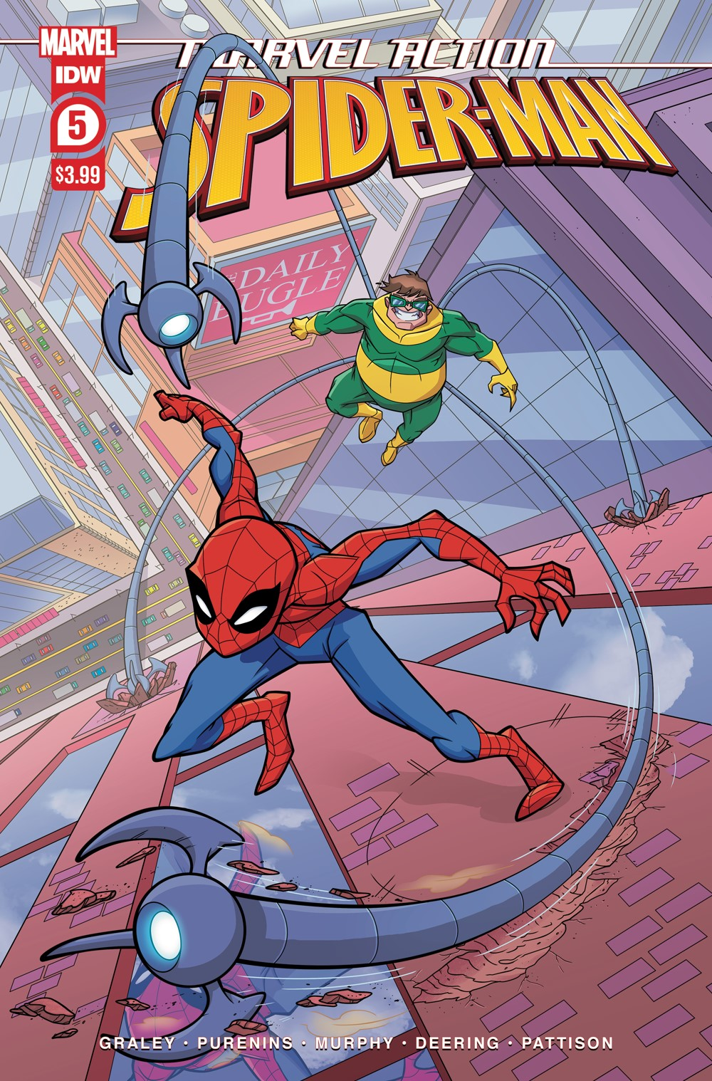 SpidermanV3-05_cvrA ComicList: IDW Publishing New Releases for 09/22/2021