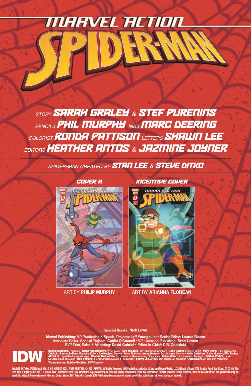 SpidermanV3-05_pr-2 ComicList Previews: MARVEL ACTION SPIDER-MAN VOLUME 3 #5