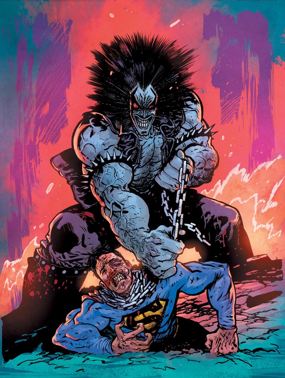 Superman-vs-Lobo-Cv3-variant DC Comics December 2021 Solicitations