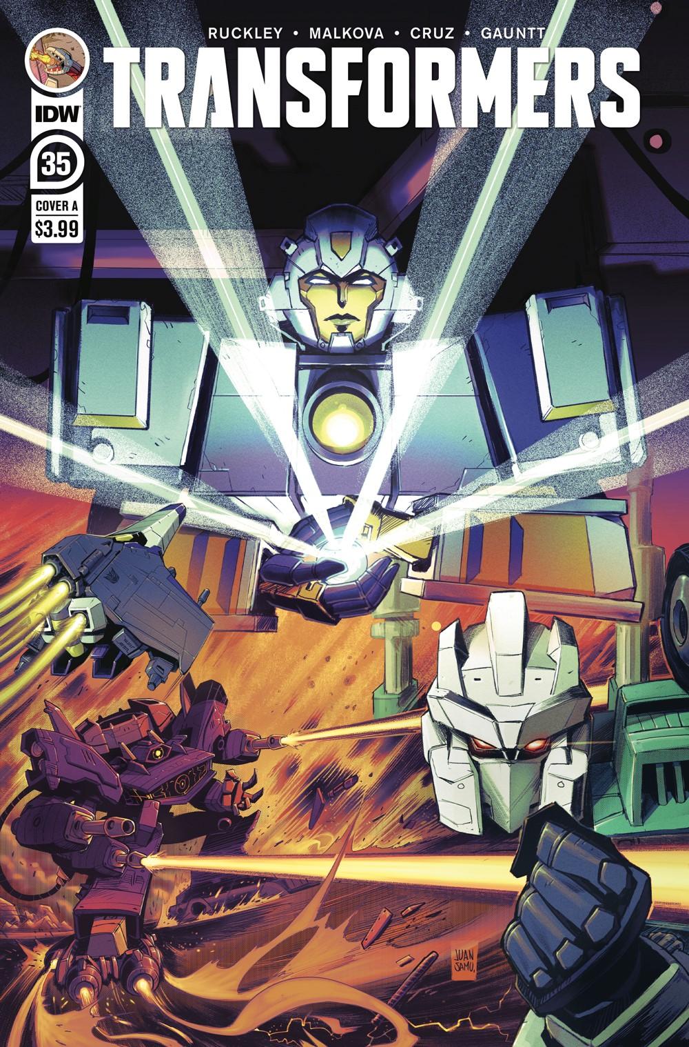 TF35-cvr-A ComicList Previews: TRANSFORMERS #35