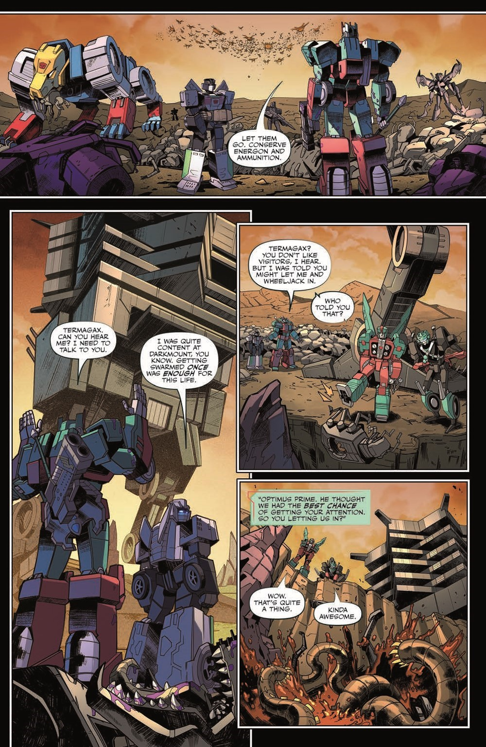 TF35-pr-6 ComicList Previews: TRANSFORMERS #35