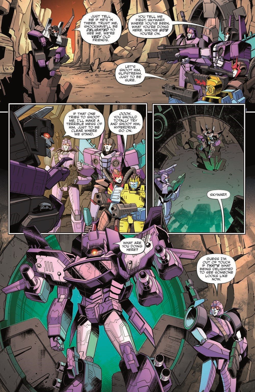 TF35-pr-7 ComicList Previews: TRANSFORMERS #35