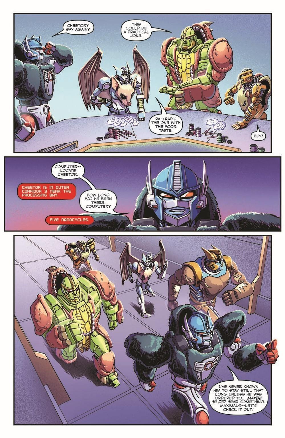 TFBW_08_pr-3 ComicList Previews: TRANSFORMERS BEAST WARS #8