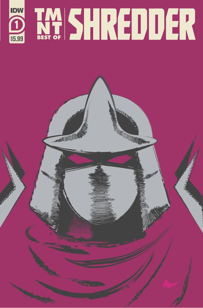 TMNT-Bestof-Shredder_cvr IDW Publishing December 2021 Solicitations