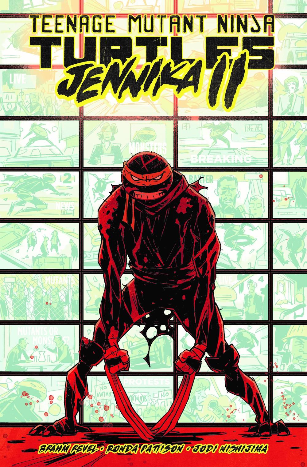 TMNT-Jennika02_cvr ComicList Previews: TEENAGE MUTANT NINJA TURTLES JENNIKA II TP