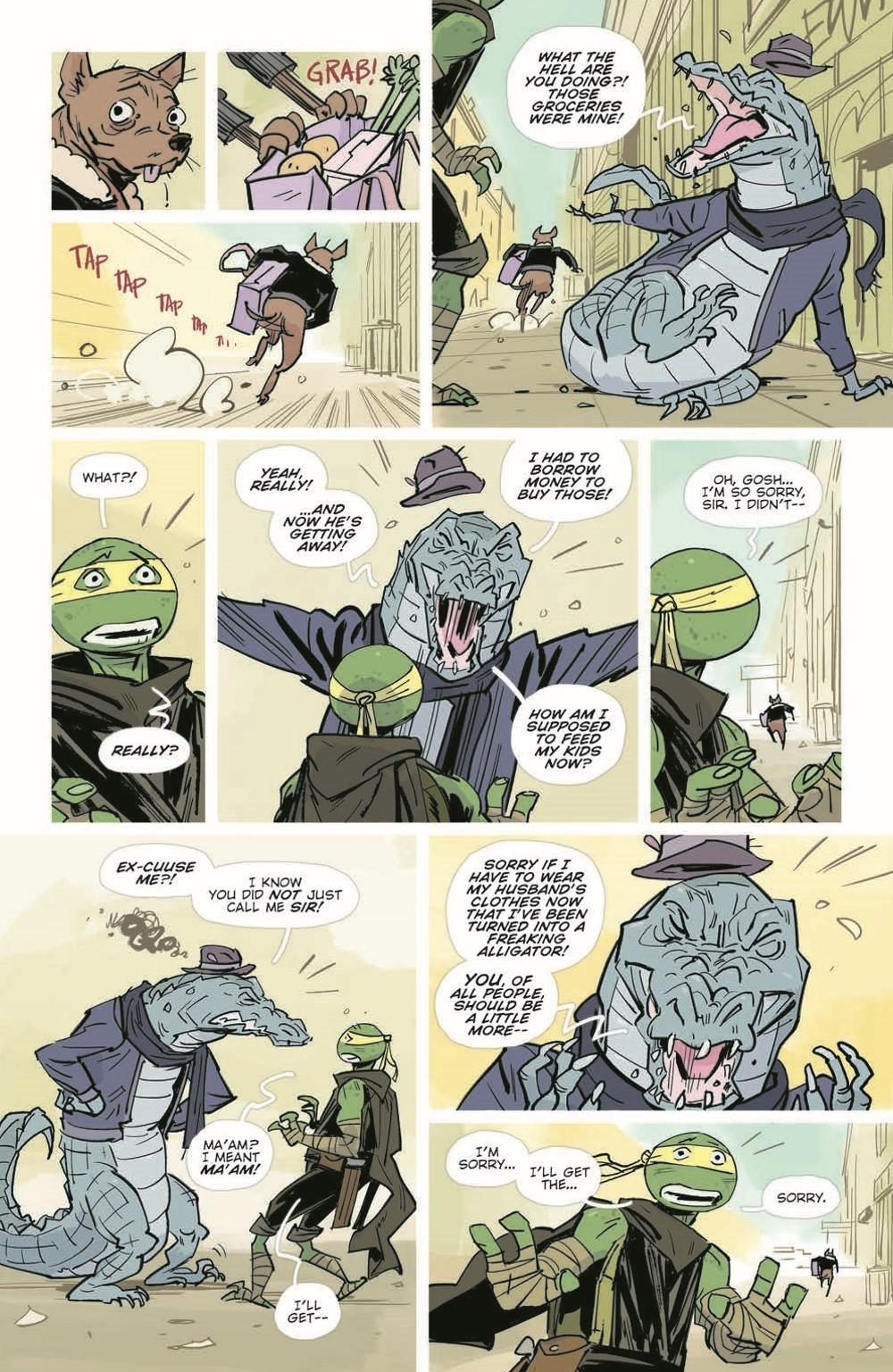 TMNT-Jennika02_pr-7 ComicList Previews: TEENAGE MUTANT NINJA TURTLES JENNIKA II TP