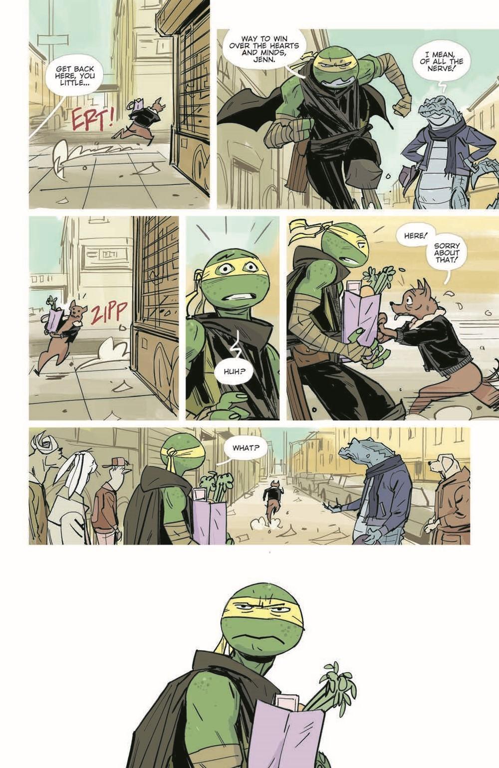 TMNT-Jennika02_pr-8 ComicList Previews: TEENAGE MUTANT NINJA TURTLES JENNIKA II TP