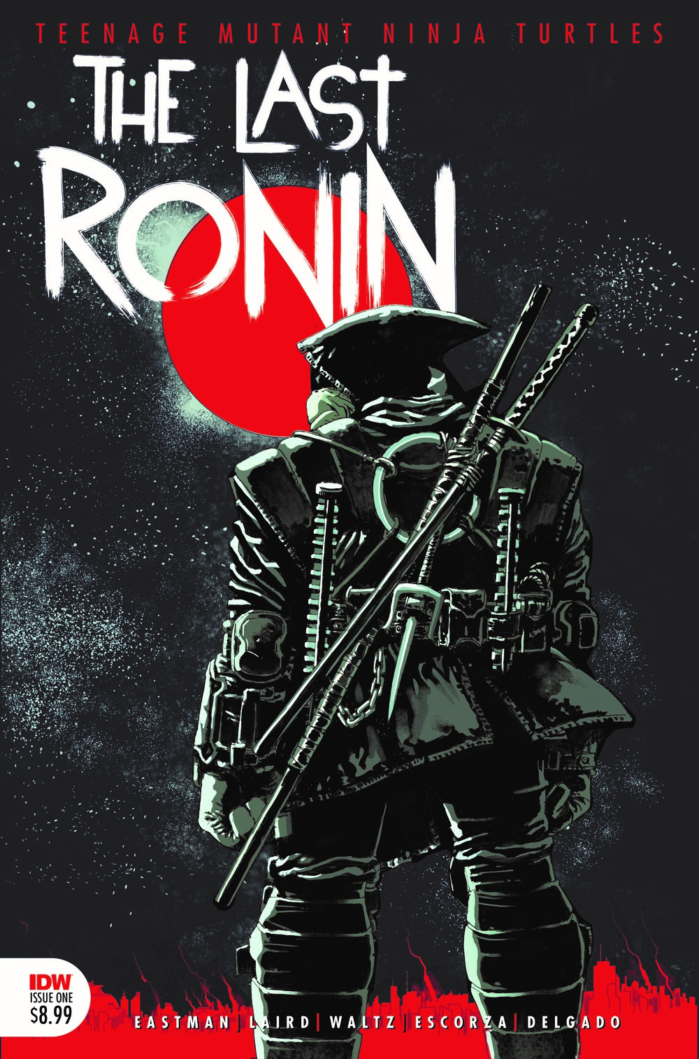 TMNT-LastRonin01_cvr4th ComicList: IDW Publishing New Releases for 09/29/2021