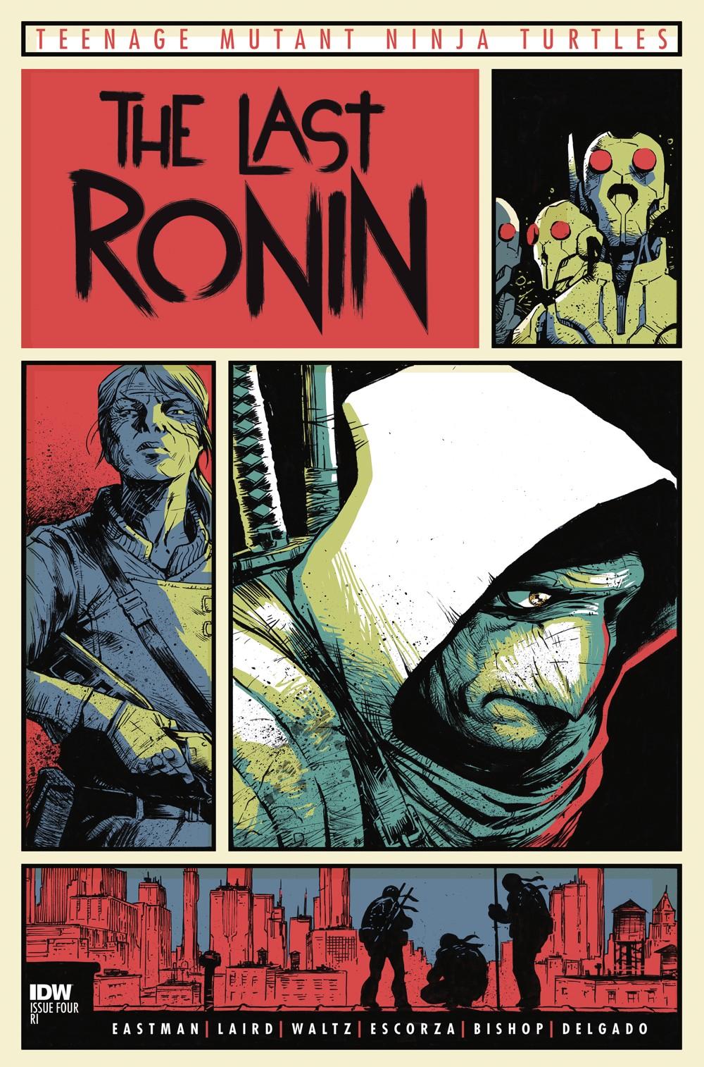 TMNT-LastRonin04_cvrRI ComicList Previews: TEENAGE MUTANT NINJA TURTLES THE LAST RONIN #4 (OF 5)