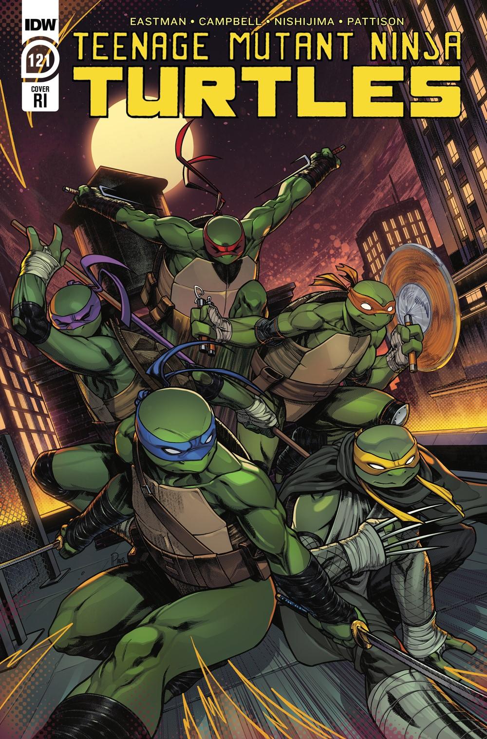 TMNT121_cvrRI ComicList Previews: TEENAGE MUTANT NINJA TURTLES #121