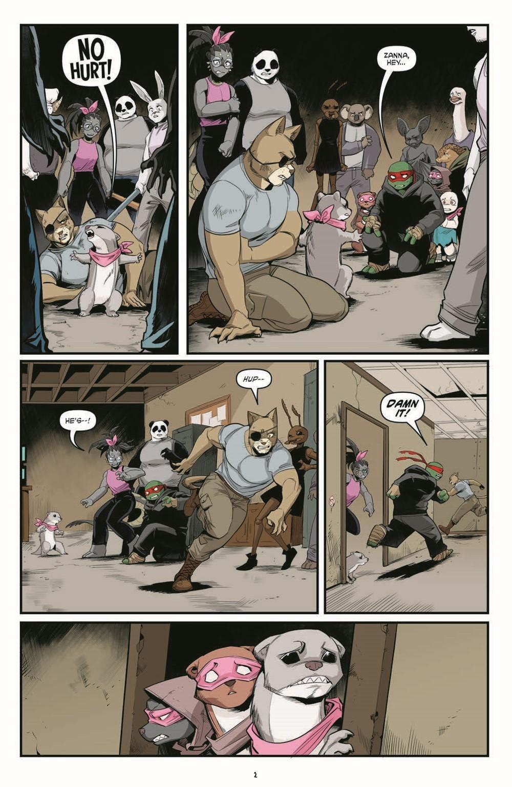 TMNT121_pr-4 ComicList Previews: TEENAGE MUTANT NINJA TURTLES #121