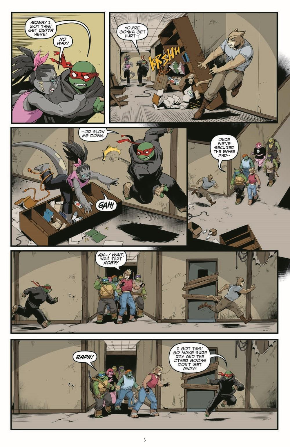 TMNT121_pr-5 ComicList Previews: TEENAGE MUTANT NINJA TURTLES #121