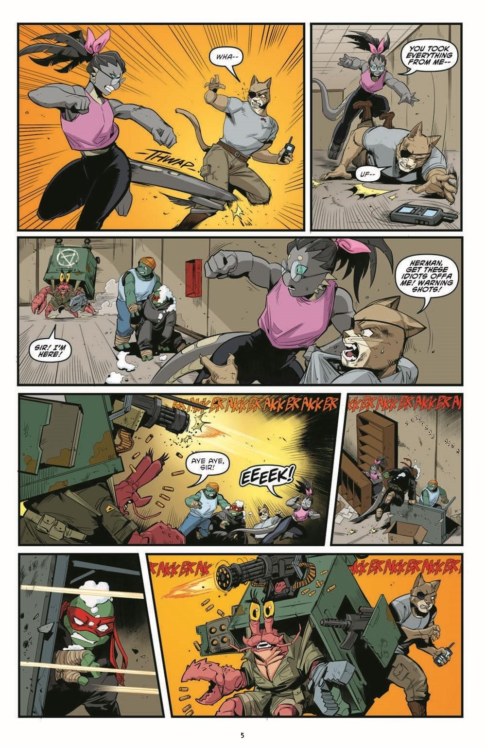 TMNT121_pr-7 ComicList Previews: TEENAGE MUTANT NINJA TURTLES #121