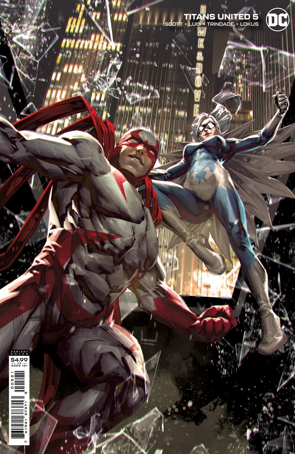 TNSU_Cv5_var DC Comics December 2021 Solicitations