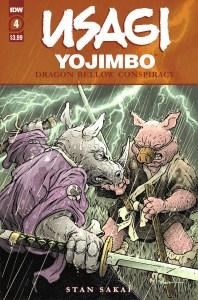 Usagi-DBC04_cvrA-198x300 ComicList Previews: USAGI YOJIMBO THE DRAGON BELLOW CONSPIRACY #4 (OF 6)